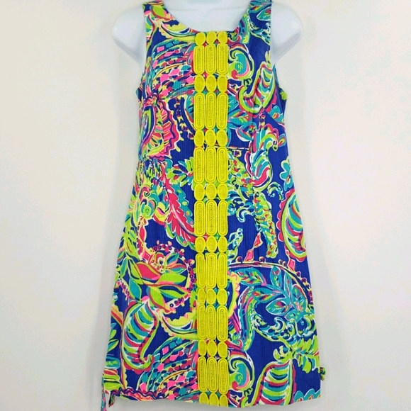 Lilly Pulitzer Embroidered Shift Dress